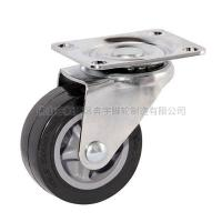 Buy cheap Light-duty patent Polyurethane Caster(Black) from wholesalers