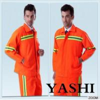 Uniform Hot Sell New Design Orange Safety Worksuit