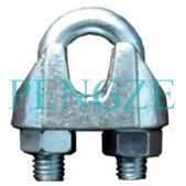 China JIS Type B Galv. Malleable Wire Rope Clips on sale