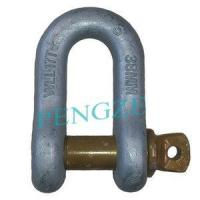 Buy cheap Grade S Screw Pin Dee Shackle Standard AS2741 from wholesalers