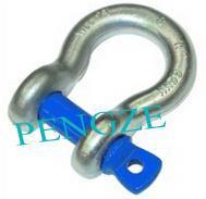Buy cheap Grade S Screw Pin Bow Shackle Standard AS2741 from wholesalers