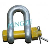 Buy cheap Grade S Dee Type Safety Shackle Standard AS2741 from wholesalers