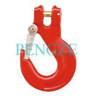 China G80 Clevis Sling Hook With Latch on sale