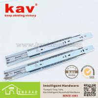 Buy cheap 450F Three folding Push-open ball bearing drawer slide from wholesalers
