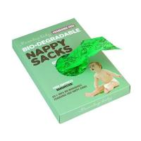 China Tie handle Disposable Diaper Sacks on sale