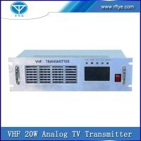 Buy cheap VHF 20W Analog TV Transmitter product