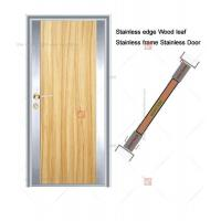Best Stainless Edged Solid Wood Leaf Stainless Frame Mixed Structure wholesale