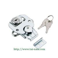 Best Draw Door Latch TS-180 Rotary Action Draw Latches(With Key) wholesale