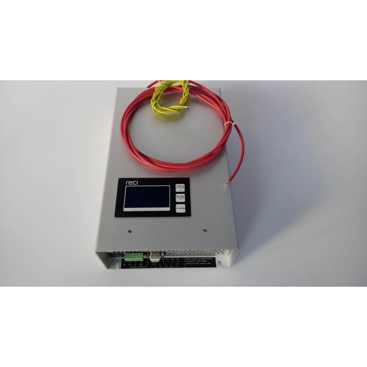 Buy cheap P12 Digital display inteligent laser power supply for reci w2 tube from wholesalers