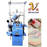 Buy cheap Full Computerized Plain Socks Knitting Machine with 6 Needle Selection from wholesalers
