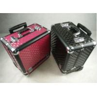 Best Aluminum Cosmetic Train Trolley Box With Wheels wholesale