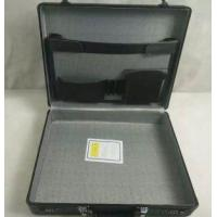 Best Black Aluminum Brief Case With Cloth Lining wholesale