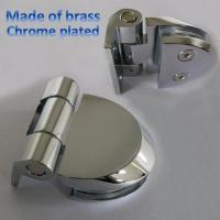 Buy cheap wall to glass door hinge Glass to Wall 90 degree Hinge from wholesalers