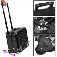 Best Aluminum Jewelry/makeup Trolley Case With Wheels wholesale