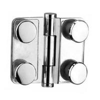 Buy cheap BA-SW004 Chrome Plated Brass, Inline glass to glass hinge from wholesalers