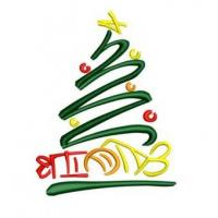 China Christmas Tree Symbol Embroidery Design on sale
