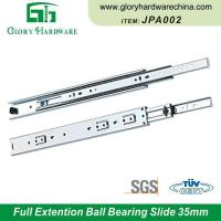 Buy cheap Wholesale JPA002 Kitchen Drawer Slides 35MM Ball Bearing Drawer Slides Drawer Slides Heavy Duty from wholesalers