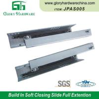 China Wholesale JPA001 Center Undermount Drawer Slides Extension Slides 3 Fold Ball Bearing Slide on sale