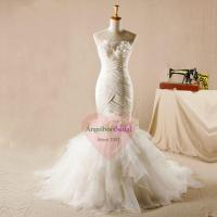 Buy cheap Mermaid Wedding Dresses with Fit and Flare Organza Skirt WD1522 from wholesalers