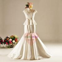 Buy cheap Mermaid Bridal Satin Wedding Dresses Trumpet Style WD1523 from wholesalers