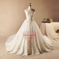 Buy cheap Vintage Inspired Lace Wedding Dresses with Cathedral Train WD1549 from wholesalers