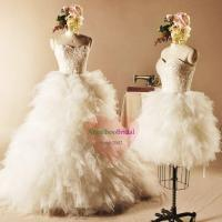 Buy cheap Two in One Wedding Dresses with Detachable Skirt WD1535 from wholesalers