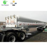 China Compressed Natural Gas Long Tube Semi-Trailer for Gas Transfering/Storage on sale