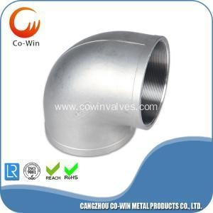China stainless steel bsp elbow fittings