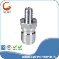 Cheap Investment Casting Quick Disconnect Plug Barb 13.6mm for sale