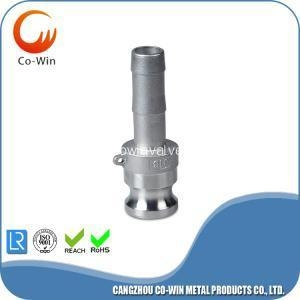 China SS camlock coupling/cam groove fitting Type E