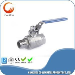 China Stainless Steel 2 PC F/M Ball Valve