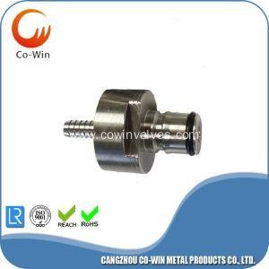 China stainless carbonation cap with barb thread