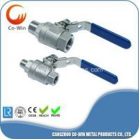 Cheap Investment casting Two Part ball valve FM for sale