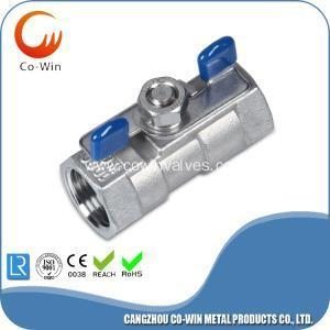 China Butterfly Handle 1PC Ball Valve