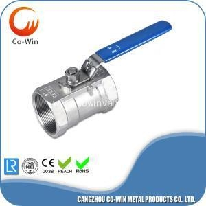China Ball Valve With Blue Handle