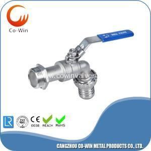 China 200PSI Stainless Steel Bibcock