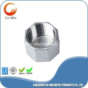 China Stainless Steel 304/316 Hex End Cap NPT