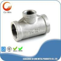 Cheap Investment Casting Reducing Tee CF8/CF8M for sale