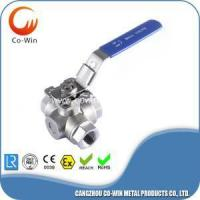 Buy cheap 3 way ball valve L/T type from wholesalers