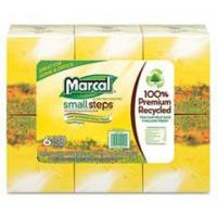 Best MAC 4034-36 Marcal PRO Recycled White Facial Tissue in Fluff-Out Boutique Box wholesale