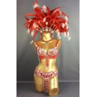 Cheap HOT SALEING parade Sexy Samba Rio Carnival Costume Feather Headdress #C2152 for sale