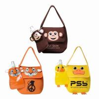 Paws N Claws Neoprene Lunch Bag With Flat Bottle