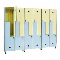 Best High Quality Double Tier Compact Board School Cabinet Lockers wholesale