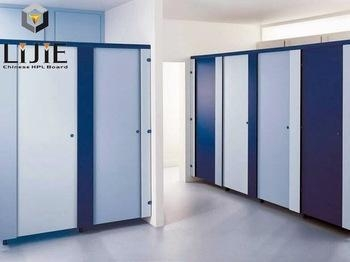 Cheap Anti-bacterial and Moisture-proof HPL Swimming Pool Shower Room Partition for sale