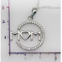 China Sterling silver pendant 925 Sterling silver charm necklaces for women on sale