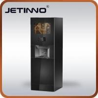 Cheap Coin And Credit Card Operated Vending Machine With Espresso And Fresh Tea And Instant Drink for sale