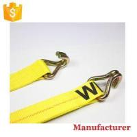 China 2 Inch 20ft 25ft 27ft 30ft Truck and Car Big Tie Downs Heavy Duty Ratchet Straps with Hooks on sale