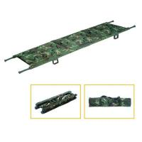 China Real Military Medical Emergency Fold Rescue Stretcher Cot with Transfer Trolley on sale