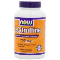 China NOW Foods L-Citrulline 750mg, 180 Capsules, on sale