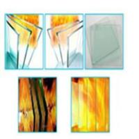 Flame resistant glass